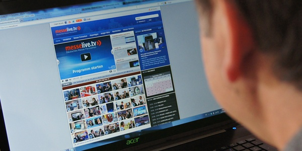 messelive.tv als Web-TV